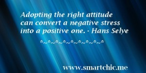 Have the right attitude